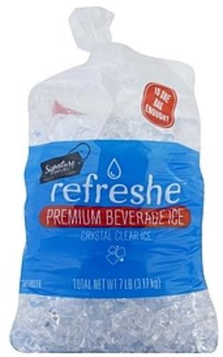 Signature Select Premium Beverage Ice - 7 lb