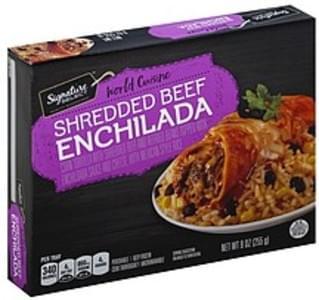 Signature Select Shredded Beef Enchilada