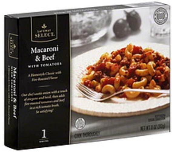 Safeway Select with Tomatoes Macaroni & Beef - 11 oz