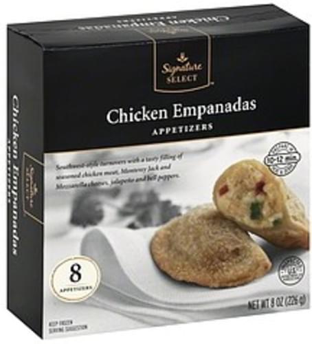 Signature Select Chicken Empanadas Appetizers - 8 ea