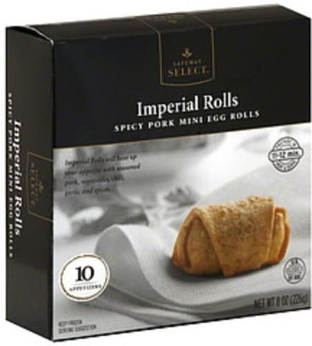 Safeway Select Imperial Rolls Appetizers - 10 ea