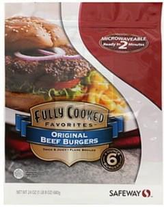 Safeway Beef Burgers Original