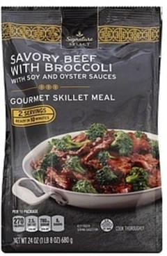 Signature Select Savory Beef with Broccoli