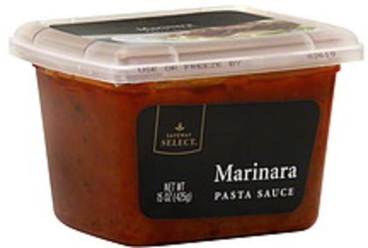 Safeway Select Marinara Pasta Sauce 15 Oz Nutrition Information Innit