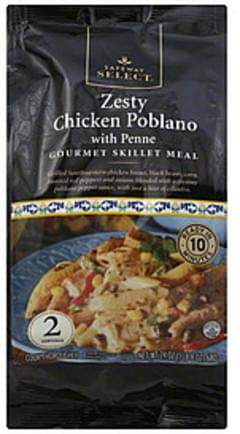 Safeway Select Gourmet Skillet Meal Zesty Chicken Poblano with Penne