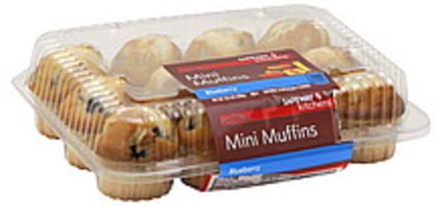 Pillsbury Ready to Eat, Gluten Free, Blueberry Muffins - 4