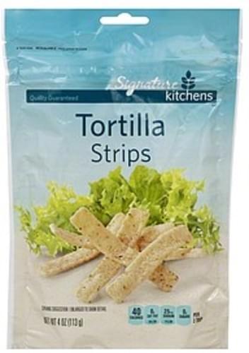 Signature Tortilla Strips - 4 oz