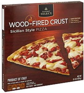 Safeway Select Pizza Wood-Fired Crust, Sicilian Style