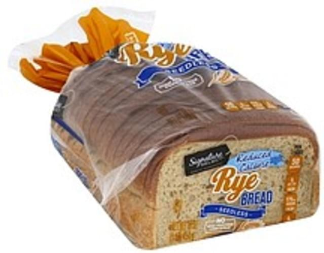 Reduced Calorie, Seedless Bread