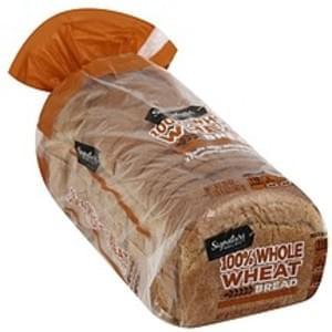 Signature Select Bread 100% Whole Wheat