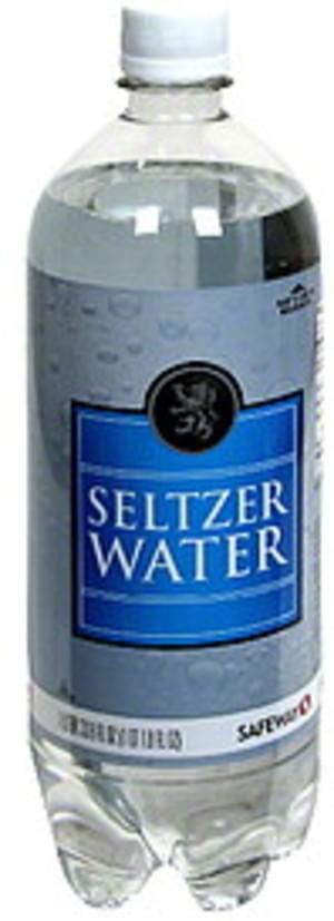 Safeway Seltzer Water - 33.8 oz