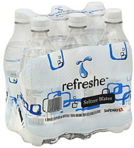 Refreshe Seltzer Water - 6 ea