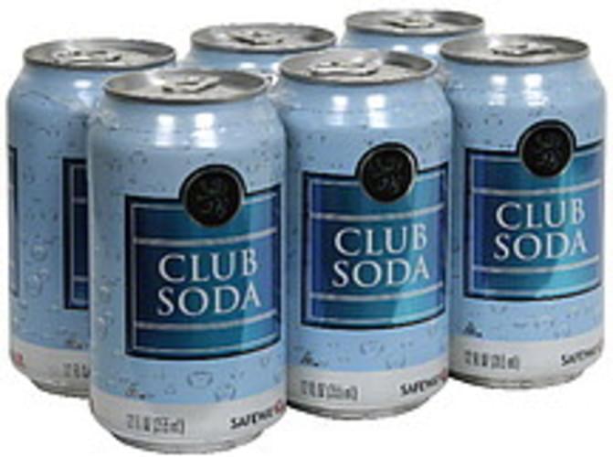 Safeway Club Soda - 6 ea