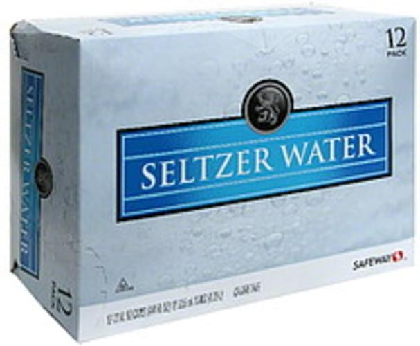 Safeway Seltzer Water - 12 ea