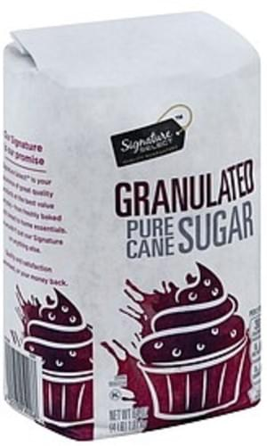 Signature Select Pure Cane, Granulated Sugar - 64 oz