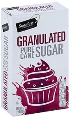 Signature Select Pure Cane, Granulated Sugar - 32 oz