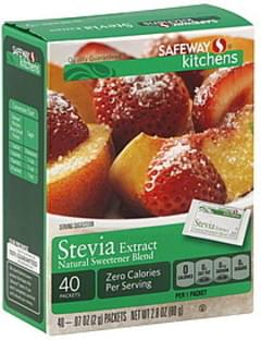 Safeway Stevia Extract Natural Sweetener Blend