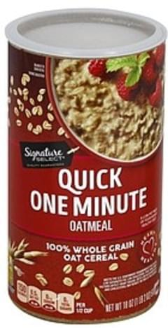 Signature Select Oatmeal One Minute, Quick