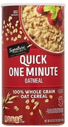 Signature Select Oatmeal Quick One Minute