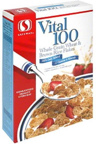 Safeway Vital 100 Cereal - 12 oz