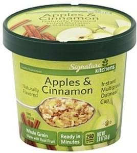 Signature Oatmeal Cup Instant Multigrain, Apples & Cinnamon