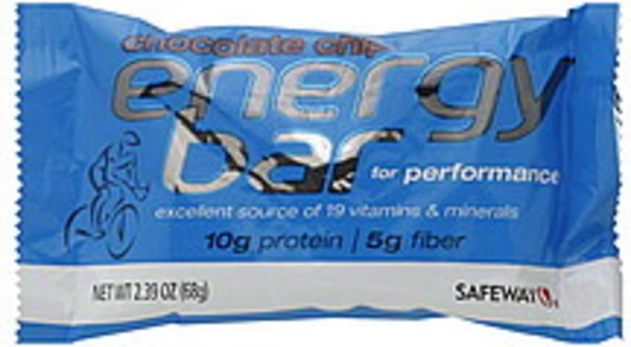 Safeway Chocolate Chip Energy Bar - 2.39 oz