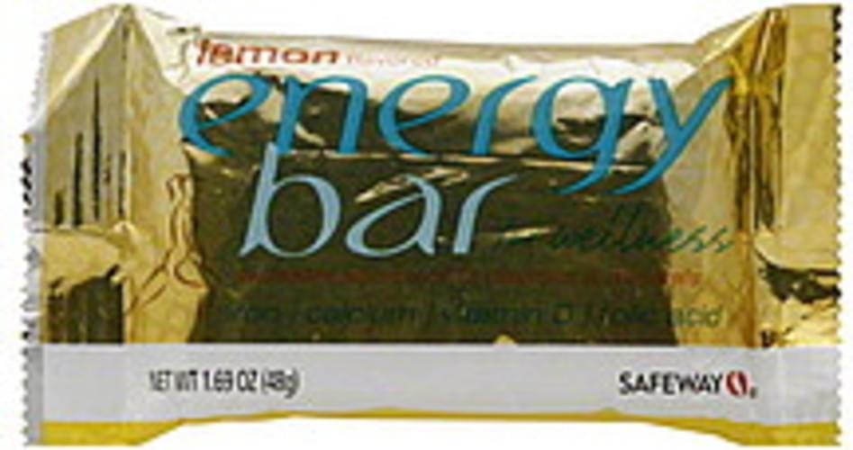 Safeway Lemon Flavored Energy Bar - 1.69 oz