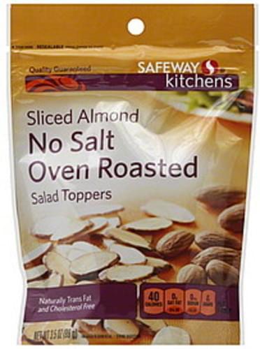 Safeway Sliced Almond, No Salt Oven Roasted Salad Toppers - 3.5 oz