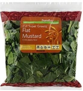 Signature Farms Cut Super Greens Flat Mustard
