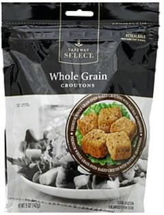 Safeway Select Croutons Whole Grain