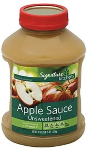 Signature Select Unsweetened Apple Sauce - 47 oz