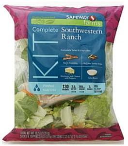 Safeway Complete Salad Kit Southwest Ranch