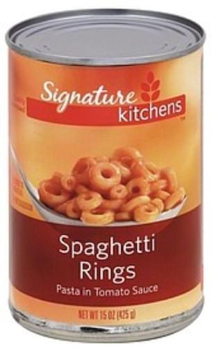 Signature Select Spaghetti Rings - 15 oz