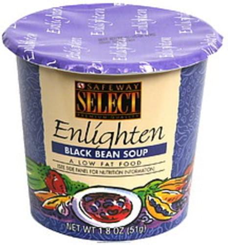 Safeway Select Black Bean Soup - 1.8 oz