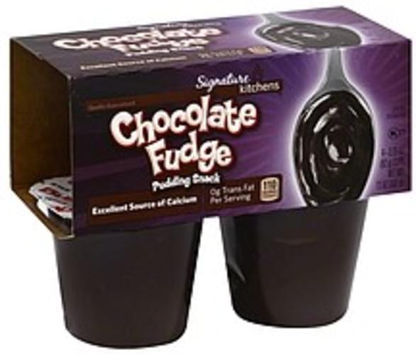 Signature Chocolate Fudge Pudding Snack - 4 ea