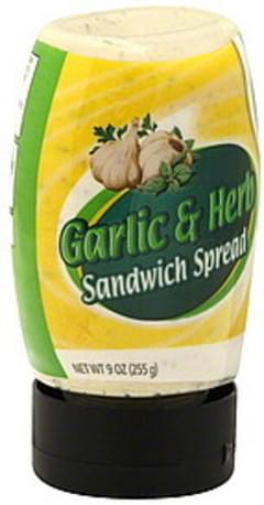 Safeway Sandwich Spread Garlic & Herb