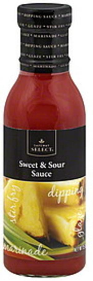 Safeway Select Sweet Sour Sauce 15 Oz Nutrition Information Innit