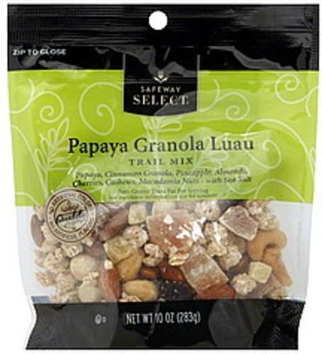 Safeway Select Papaya Granola Luau Trail Mix - 10 oz