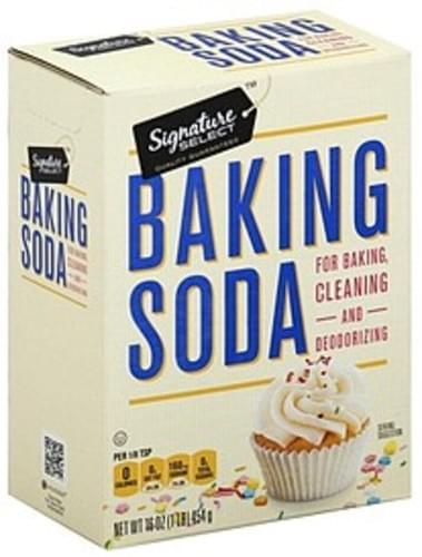Signature Select Baking Soda - 16 oz