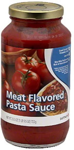 Safeway Meat Flavored Pasta Sauce 25 5 Oz Nutrition Information Innit