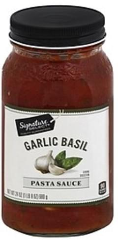 Signature Select Pasta Sauce Garlic Basil