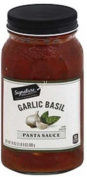 Signature Select Garlic Basil Pasta Sauce - 24 oz
