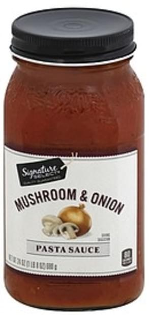 Signature Select Mushroom and Onion Pasta Sauce - 24 oz