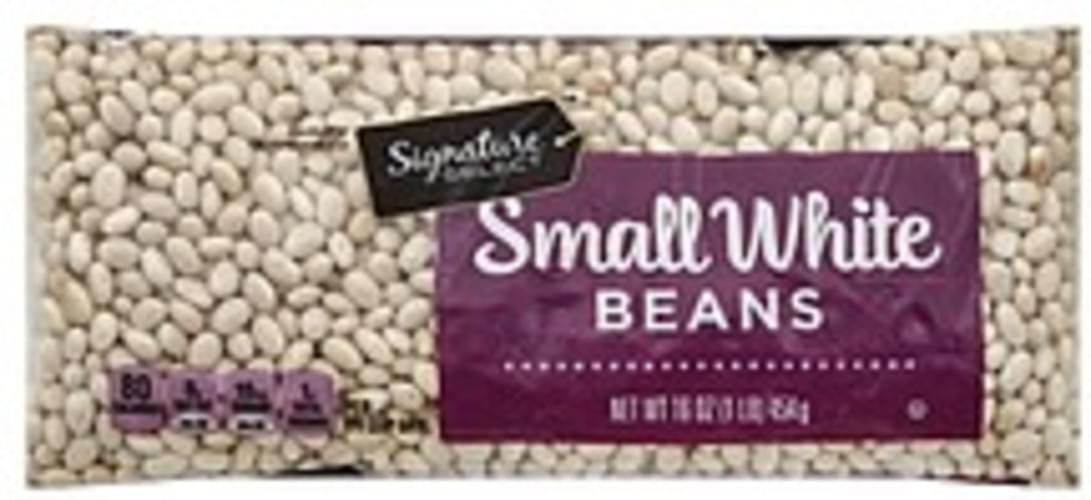 Signature Select Small White Beans - 16 oz