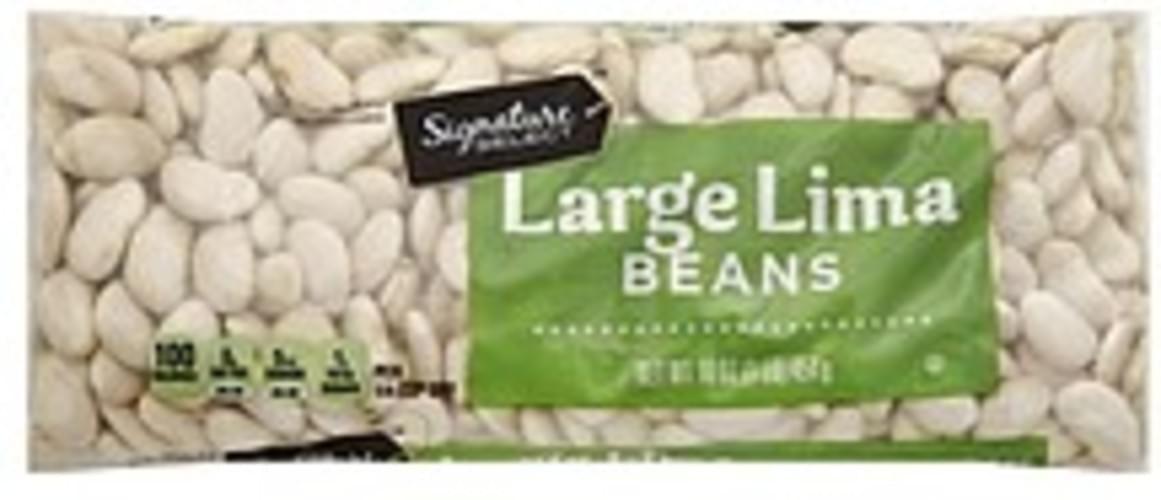 Signature Select Large Lima Beans - 16 oz