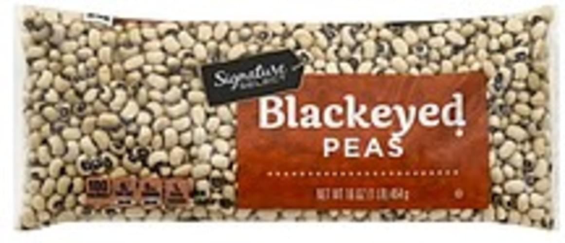 Signature Select Blackeyed Peas - 16 oz