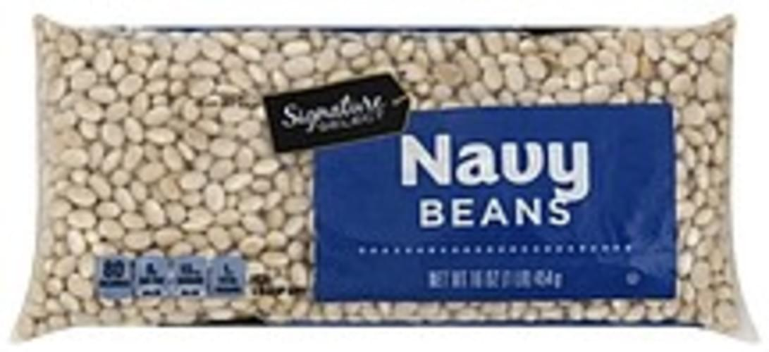 Signature Select Navy Beans - 16 oz