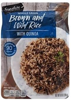 Signature Select Brown and Wild Rice with Quinoa, Whole Grain