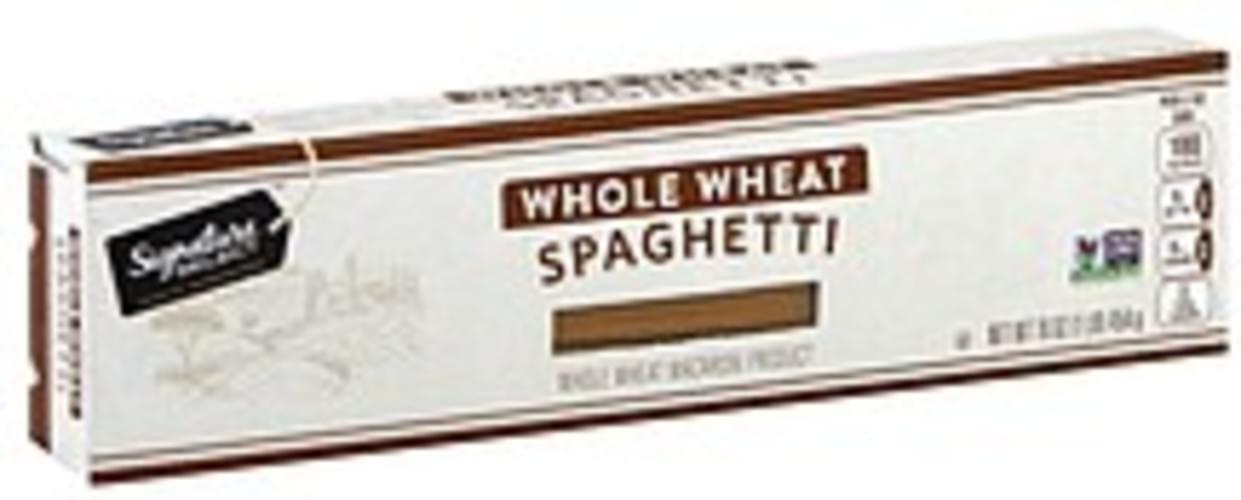 Signature Select Whole Wheat Spaghetti - 16 oz