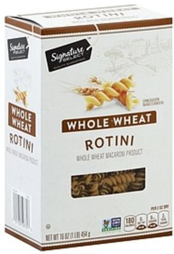 Signature Select Whole Wheat Rotini - 16 oz
